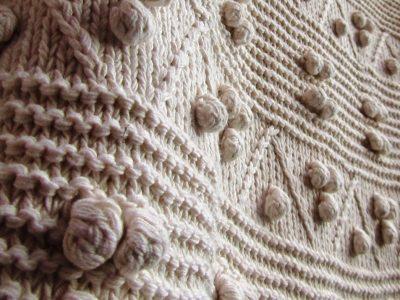 Lilli J ~ T12 knit detail shot
